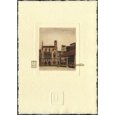 Ayuntamiento y mercado de Granollers
