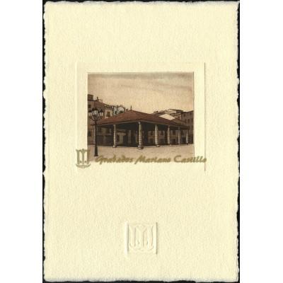 Plaza del mercado de Granollers
