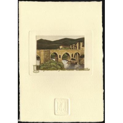 Puente medieval fortificado de Besalú