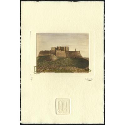 Castillo fortaleza de Monzón