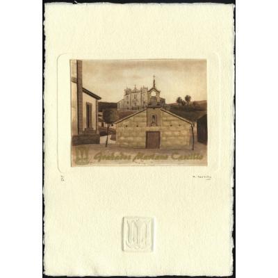 Ermita de Las Angustias, Padrón