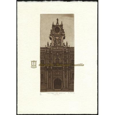 Fachada del convento de San Marcos (León)