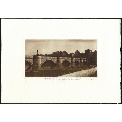Puente romano sobre el rio Bernesga