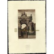 Arco Triunfal y Estatua de D. José I en la praça do comercio