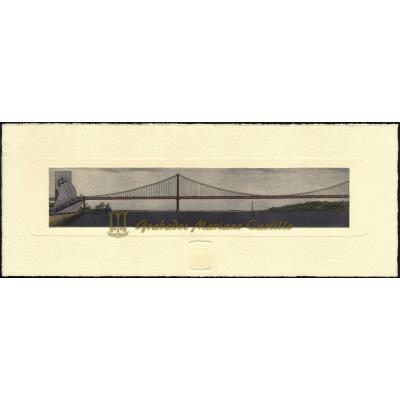 Ponte 25 de Abril y Monumento das descobertas