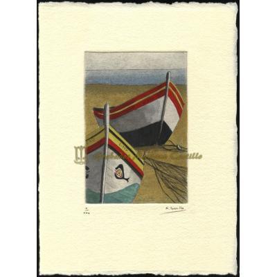 Barcos de pesca portugueses