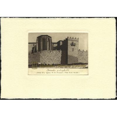 Ábside de la Iglesia de San Francisco - Torre de los abades