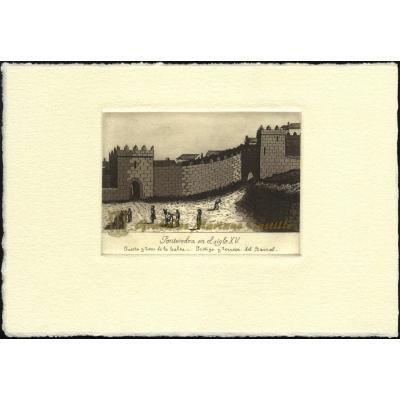 Puerta y torre de la Galea - Postigo y torreón del Barral, Siglo XV