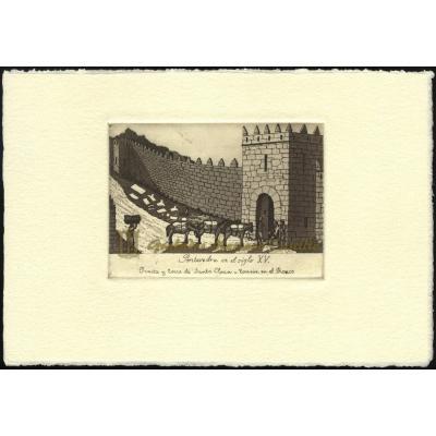 Puerta y torre de Santa Clara - Torreón en el Ronco, Siglo XV
