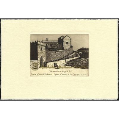 Puerta y torre de Trabancas - Iglesia de San Francisco, La Picota