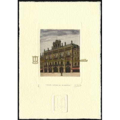 Ayuntamiento en plaza Mayor de Salamanca