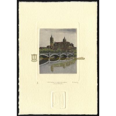 Catedral de Salamanca y puente nuevo