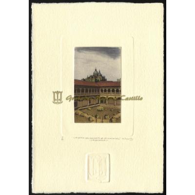 Claustro del convento de las Dominicas de Salamanca