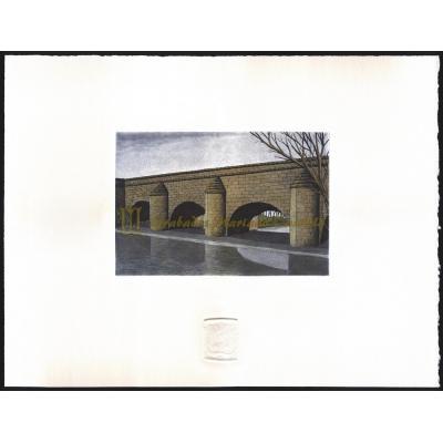 Acueducto sobre el rio Jalón
