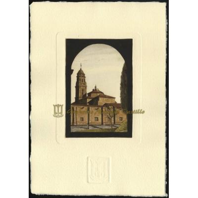 Claustro con Iglesia de La Cartuja Baja