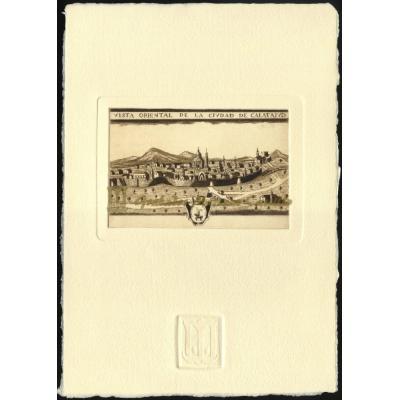 Plano antiguo de Calatayud
