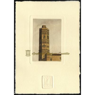 Torre mudéjar de Iglesia de Santa María de Tauste