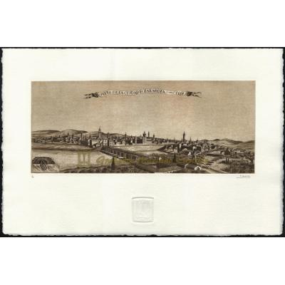 Vista Zaragoza 1668