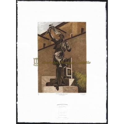 Estatua del Palleter