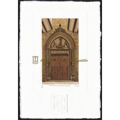 Puerta iglesia Santo Domingo