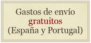 Gastos de envío gratuitos (España y Portugal)