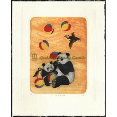 El juego de los panda