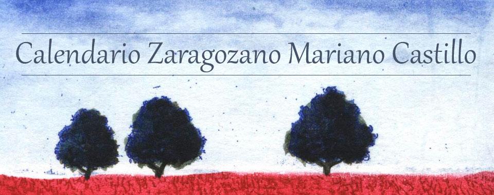 Calendario Zaragozano Mariano Castillo